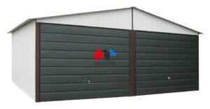 Garaże blaszane akrylowe /kolorowe/ RAL